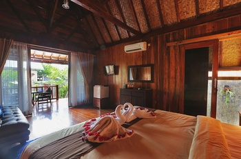 Yoki's Bungalows Lombok - Bungalows  Superior with  Garden Regular Plan