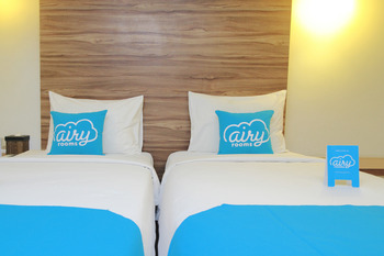 Airy Legian Shri Lakhsmi 17 Kuta Bali - Studio Twin Room Only Special Promo Aug 28