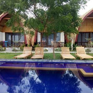 Krisna Bungalow and Restaurant Lombok - Deluxe Bungalow DISC 28% HADIR KEMBALI