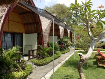 Krisna Bungalow and Restaurant Lombok - Deluxe Bungalow Special Promo