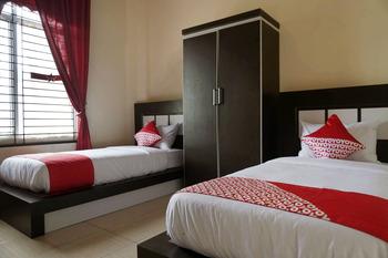 OYO 1394 Rumaisa Homestay Pekanbaru - Standard Twin Room Regular Plan
