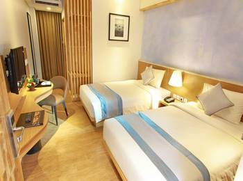 Horison Jimbaran Hotel Bali - Deluxe Twin Room Only Basic Deal