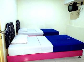 Wisma Jampea Makassar - Standard Twin Sharing Bathroom With Breakfast Regular Plan