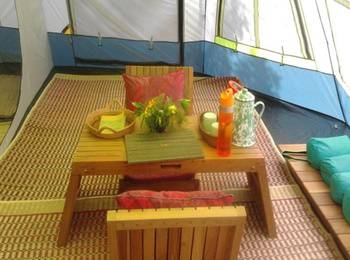 Dusun Bambu Family Leisure Park Bandung - Single Deck Camp Regular Plan
