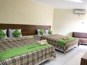 Bamboe Inn 2 Homestay Bandar Lampung - Family Quadruple Premium Regular Plan
