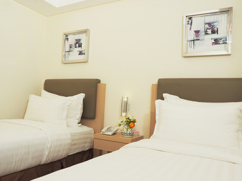 d'primahotel Airport Jakarta 2 Tangerang - Superior Twin No Window Room Only SAFECATION