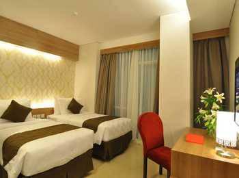 GP Mega Kuningan Hotel Jakarta - Deluxe Twin Bed Room Regular Plan