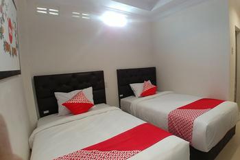 OYO 621 Vania Residence Medan - Deluxe Twin Room Regular Plan