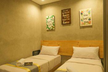 Hotel Summerville Majalengka - Deluxe Twin Room Only Sameday booking