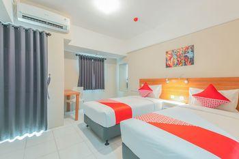 OYO Flagship 750 Mont Blanc Bekasi - Standard Twin Room Regular Plan