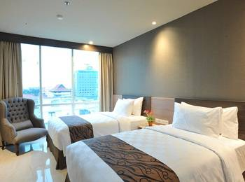 Hotel Aria Centra Surabaya Surabaya - Deluxe Tempat Tidur Twin #WIDIH