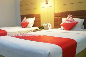 OYO 1088 Hotel Mega Sentosa Samarinda - Deluxe Twin Room Regular Plan