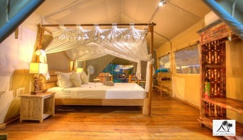 La Cocoteraie Ecolodge Lombok - Luxury Tent Standard A Regular Plan