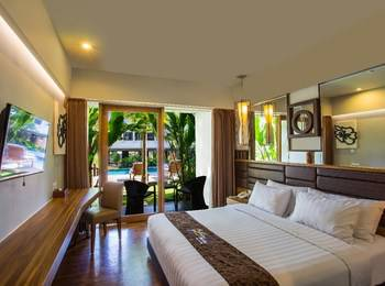 The Lerina Hotel Nusa Dua - Deluxe with Balcony 36% OFF 2017 TILL 31 MARCH