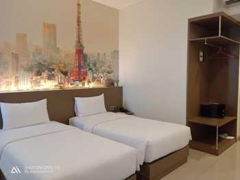Opi Indah Hotel Palembang - Superior Room Only Twin Regular Plan