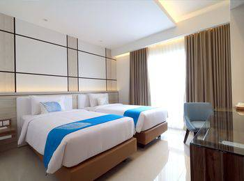 Hotel Dafam Lotus Jember Jember - Deluxe Twin Beds Room Only Regular Plan