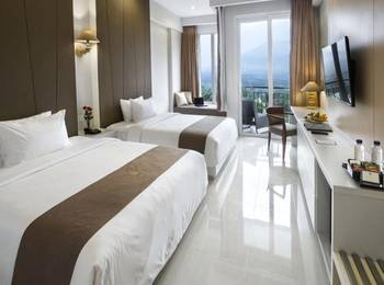 R Hotel Rancamaya - Deluxe Room Twin/Double Bed Room Only Regular Plan