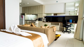 Peaceful Room Azalea Suites Cikarang by Jayakarta Group Bekasi - Studio Suite Regular Plan