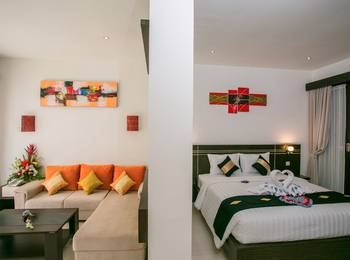 The Diana Suite Tuban Bali - Pavilion Room Only Last Minute Hot Deal