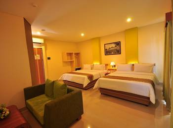 De Batara Hotel Bandung - Grand Family Deluxe (4 Pax) With Breakfast Regular Plan