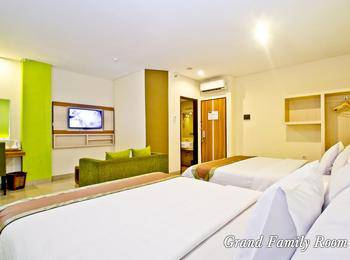 De Batara Hotel Bandung - Family Room Only Longstay Deals!