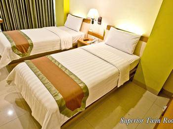De Batara Hotel Bandung - Superior Twin Room Only Regular Plan