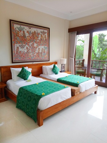 Jannata Resort & Spa Ubud - Deluxe Double or Twin Room Only Last Minute 55%