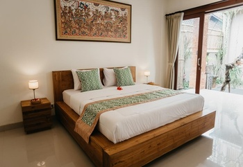 Tu Sandat Homestay Ubud Bali - Deluxe Double or Twin Room LAST MIUTE