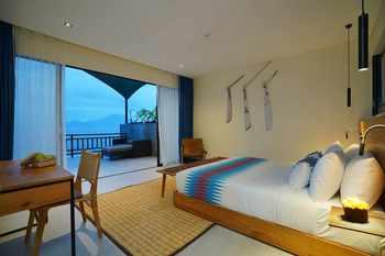 Adiwana Warnakali Resort Bali - Grand Deluxe Ocean View Room with Free Floating Breakfast Staycation