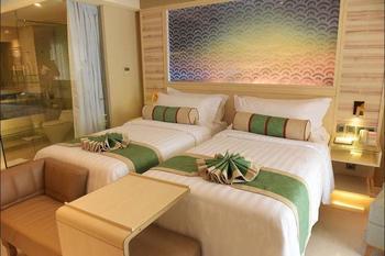 SereS Springs Resort & Spa Singakerta Bali - Deluxe Twin with Rice Field View Pesan lebih awal dan hemat 25%