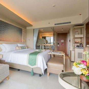 SereS Springs Resort & Spa Singakerta Bali - Deluxe Room, 1 King Bed, Pool Access Pesan lebih awal dan hemat 25%
