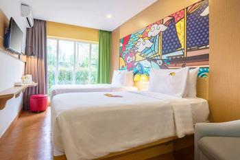 MaxOneHotels.com Resort Makassar Makassar - Happiness Twin (Standard) Regular Plan