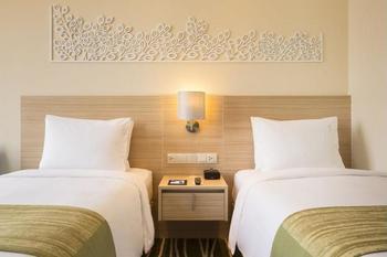 Holiday Inn Express Semarang Simpang Lima - Kamar, 2 tempat tidur single, non-smoking Regular Plan