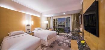 Hilton Singapore - Premium Room, 2 Twin Beds Regular Plan