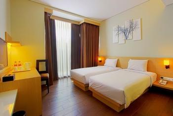 De Rain Hotel  Bandung - Deluxe Twin Room Only Regular Plan