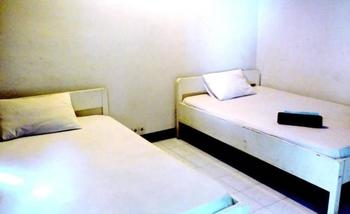 Sandy Beach Cottage Gili Trawangan - Twin Room Kipas Angin Regular Plan