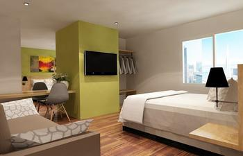 Front One Hotel Jayapura Jayapura - Deluxe Twin Room Regular Plan
