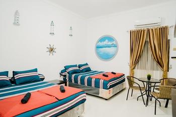Ostic House Jogja - Kamar Keluarga untuk 4 orang Regular Plan