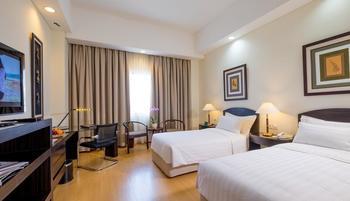 Sintesa Peninsula Palembang - Deluxe Twin Room Regular Plan