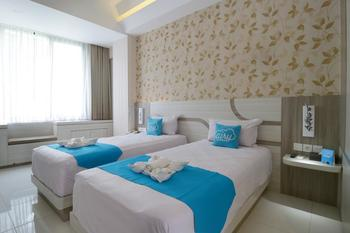 Airy Veteran 55 Bojonegoro Bojonegoro - Deluxe Twin Room with Breakfast Special Promo Sep 45