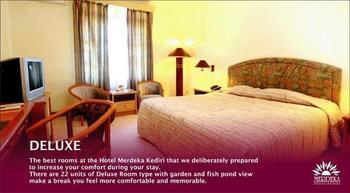 Hotel Merdeka  Kediri - Deluxe Hanya Kamar Regular Plan
