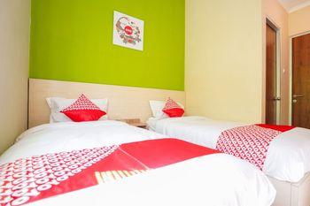 OYO 1169 Kupang Gunung Residence Syariah Surabaya - Standard Twin Room Regular Plan