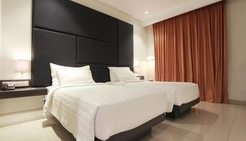 Hotel Grandia Bandung - Deluxe Tempat Tidur Twin - Room Only Basic Deal