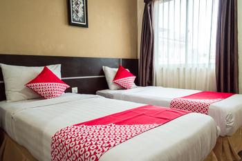 OYO 625 Hotel Golden Gate Batam - Deluxe Twin Room Regular Plan