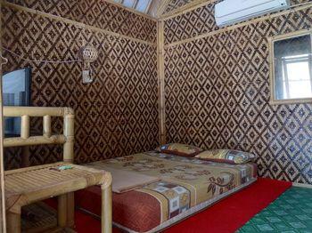 Bamboo Lengkung Cottage Jogja - Kamar standar bamboo AC dengan sarapan Regular Plan