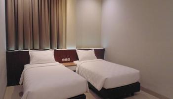 MOSCHA Hotel Gubeng Surabaya Surabaya - MOSCHA Standard Room Twin Bed With Breakfast Regular Plan