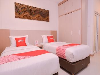 OYO 2018 Ring Road Guest House Syariah Banda Aceh - Deluxe Twin Room Regular Plan