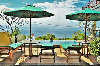 D'Artha Cottage Bali - Deluxe Twin with Sea View Regular Plan