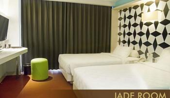 Crown Prince Hotel Surabaya - Jade Twin With Breakfast Regular Plan