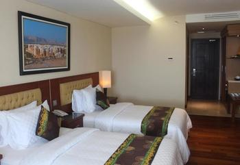 Q Grand Dafam Syariah Banjarbaru - Deluxe Room with Twin Beds Regular Plan